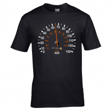 Speedometer 1954 Birthday T-Shirt - Funny Feels Age Year Present Mens Gift